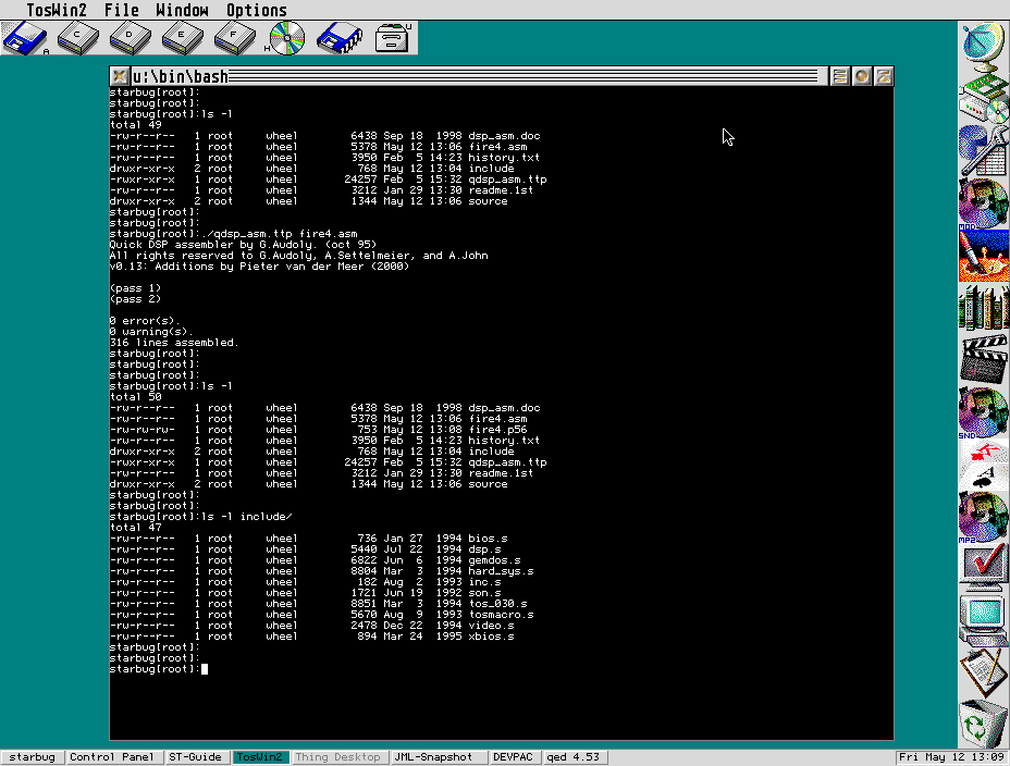 Quick DSP assembler v0.13b screenshot