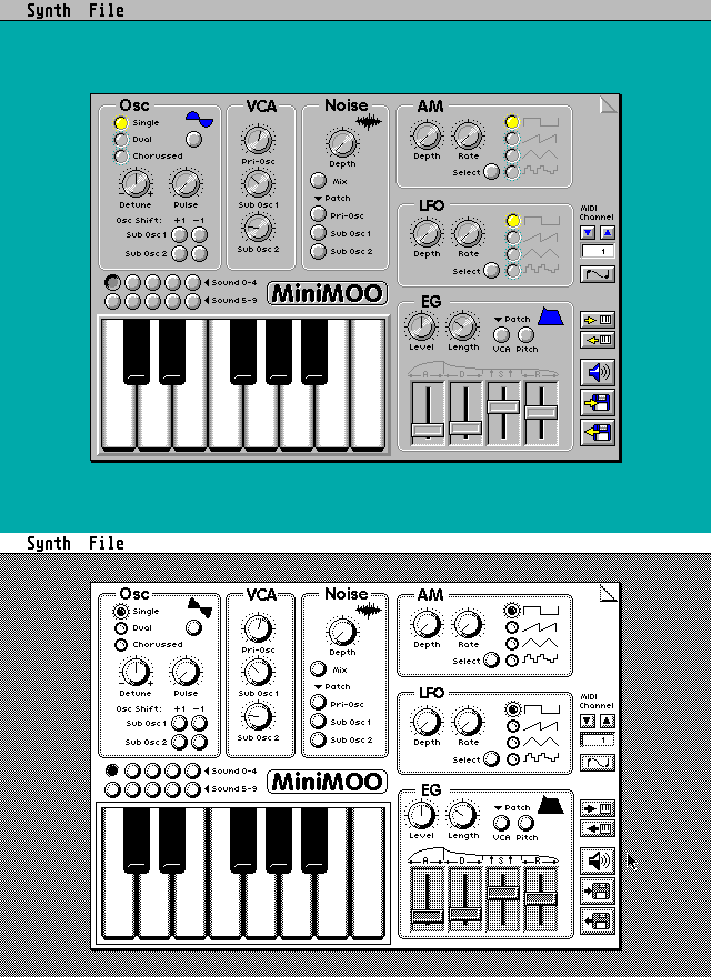 Sound Chip Synth screenshot