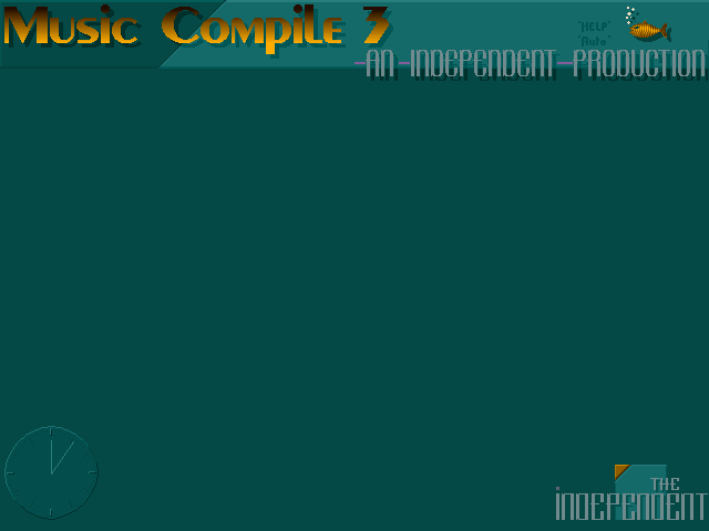 Independent Music Compile #3 Menu